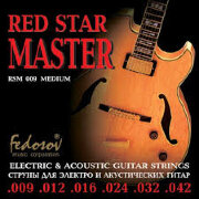 Fedosov RSM009 Red Star Master Medium