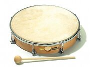 "Тамбурин 8"" Sonor 90530200 Global CG THD 8 N, кожа"
